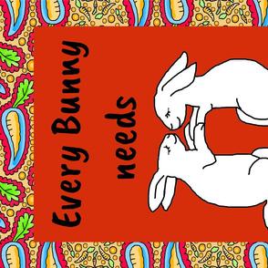 Every Bunny Tea Towel
