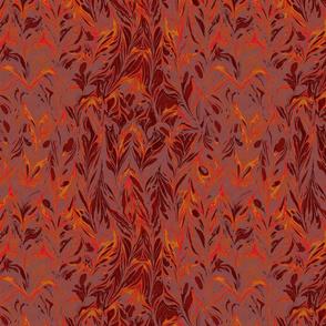 marbling-leaf_chestnut orange