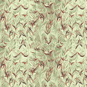 marbling-leaf_ivory plaster