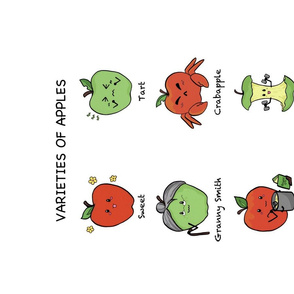 Humorous  Apple Varieties