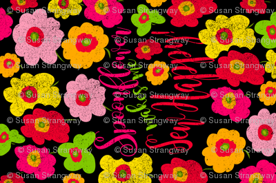 Spoonflower Makes Me Sew Happy