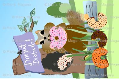 Donut Disturb Chipmunk