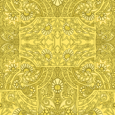 Golden Twister fabric by edsel2084 on Spoonflower - custom fabric