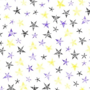 Stars - non-binary colours