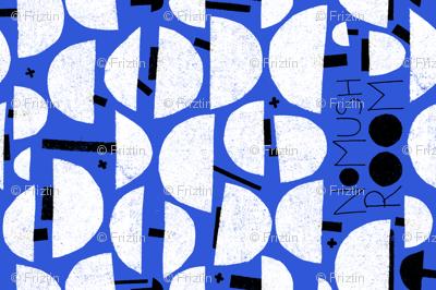 NoMushRoom M+M Cobalt by Friztin