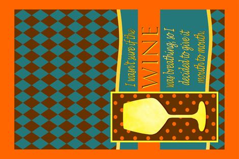 Pun Joke fabric by rivlo on Spoonflower - custom fabric