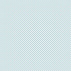 Sand ponies medium blue dot .5x.5