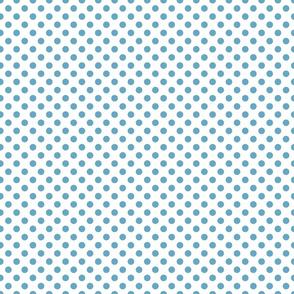 Sand ponies medium blue dot 1x1