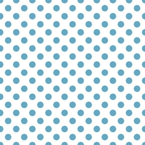 Sand ponies medium blue dot 2x2