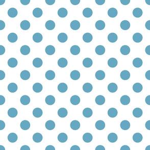 Sand ponies medium blue dot 3x3