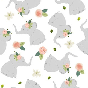 pink rose elephant toss