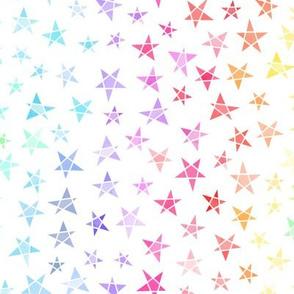 Stars - rainbow