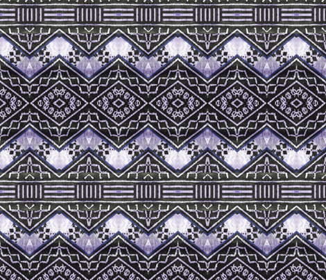 fijian tapa 90 fabric by hypersphere on Spoonflower - custom fabric