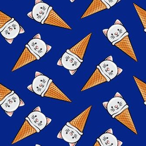 cute cat icecream cones - toss