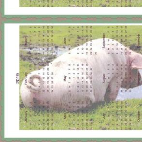 lakeside pig calendar