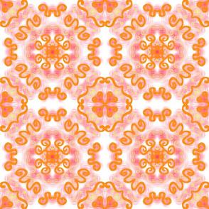 Rosy Orange Flora