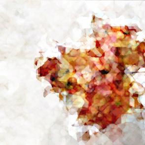 Abstract Autumn Maple Leaf
