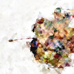 Abstract Autumn Maple Leaf 4