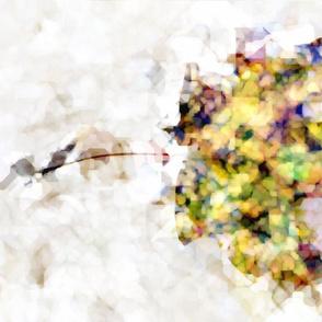 Abstract Autumn Maple Leaf 5