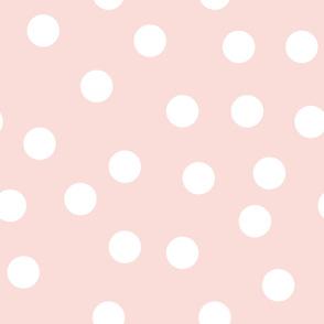 "6"" polka - pink"
