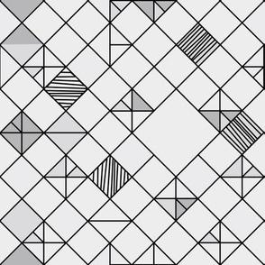 square grid in grey