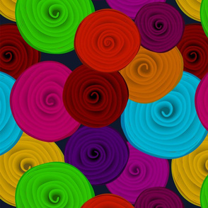 Rolls of Fabric Solid Colors