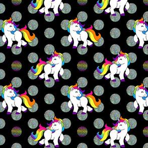 Rainbow Unicorn Dots