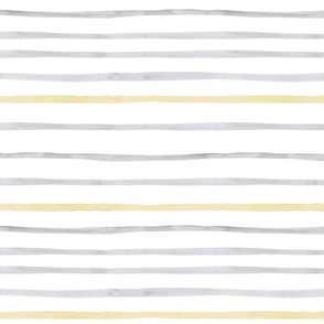 yellow grey stripes