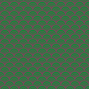 Pink Green Circles