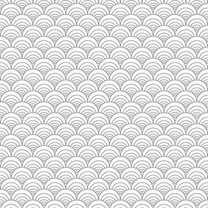 White Circles Black