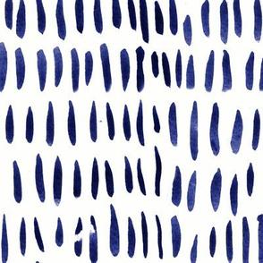indigo inky lines boho