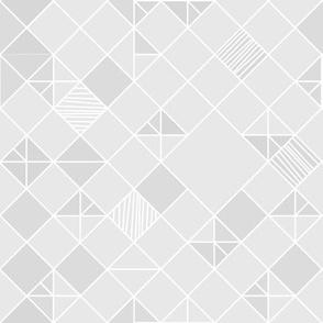 square grid in light grey