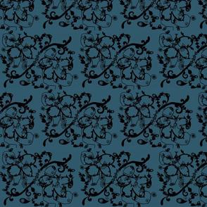Orient Express Blue Velvet-ed