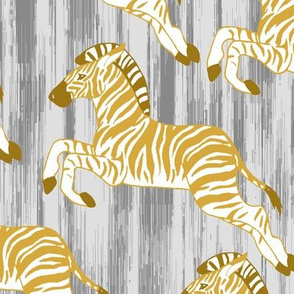 Golden Zebra Herd