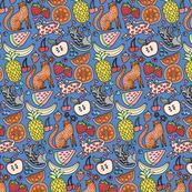 fruity_felines by pinkowlet