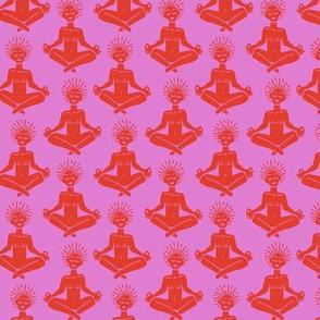 Yogi in Chakra