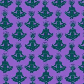 Yogi in Eggplant