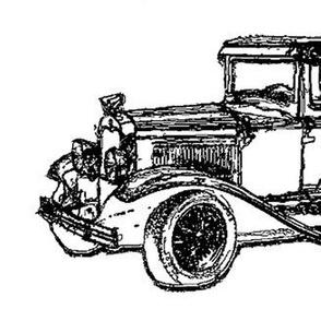 Vintage Car large sketch