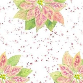 "poinsettia rose diamonds 4"""