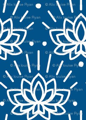 Lotus in Ocean