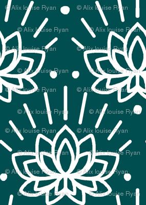 Lotus in Green