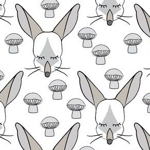 bilby-faces-and-mushrooms-on-white