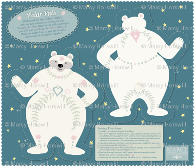 Polar Pals - Twinkle Cut and Sew