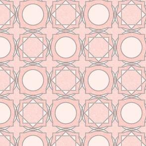 trellis tile 02 peachy