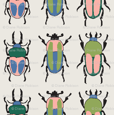Rows of Beetles