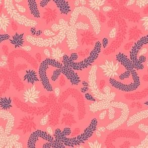 Succulent Garden Texture