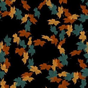 Dancing Swirling Leaves