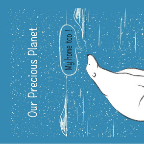 Our Precious Planet-Polar Bear t towel-01