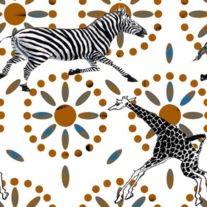 Safariville  Zebras and Giraffes