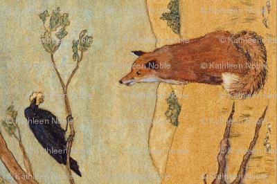 Fox and  Crow Fable